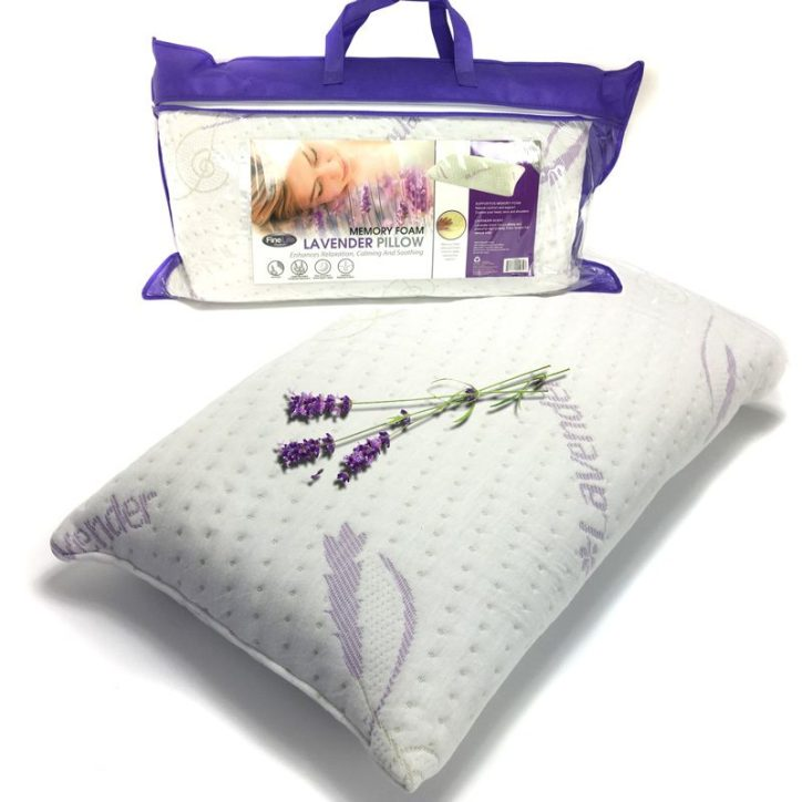 Memory Foam Lavender Infused Pillow Only $24.99 Down From $79.00! Ships FREE!