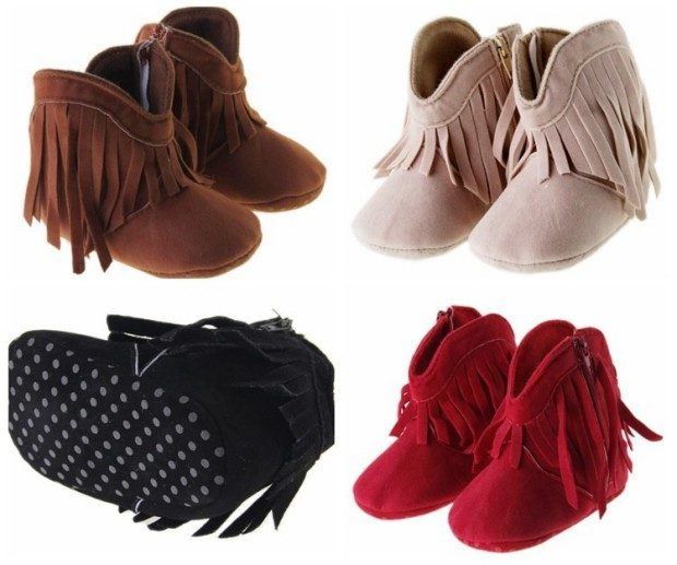 PU Leather Baby Boots Only $8.24 Shipped!