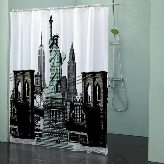 Statue of Liberty Shower Curtain Only $42.60! Ships FREE!!