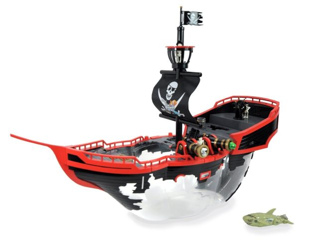 Lil Fishy Pirate Ship Interactive Habitat Was $50 Now Only $12.99!