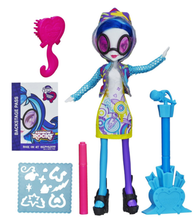 My Little Pony Equestria Girls DJ PON-3 Doll With Markers And Microphone Just $9 Down From $22!