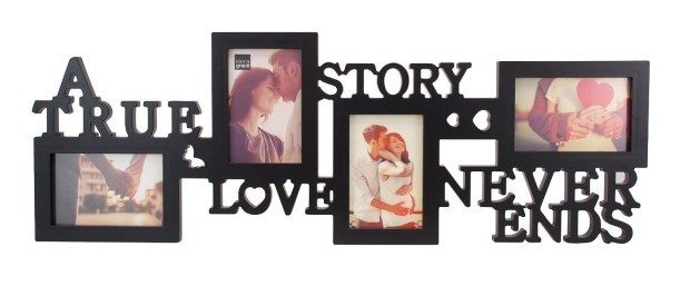 """""""True Love"""" Collage Picture Frame Only $15.29!"""