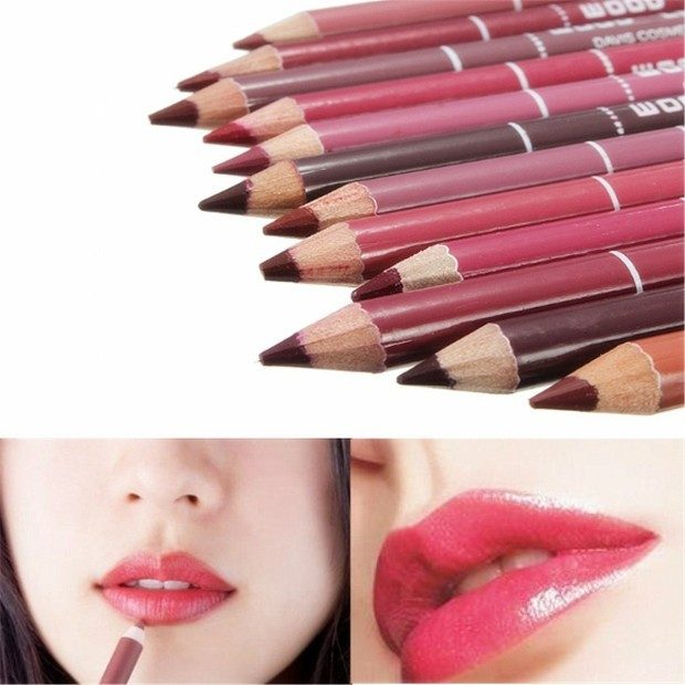 Luckyfine Set of 12 Waterproof Lip Liner Only $6.95 Plus FREE Shipping!