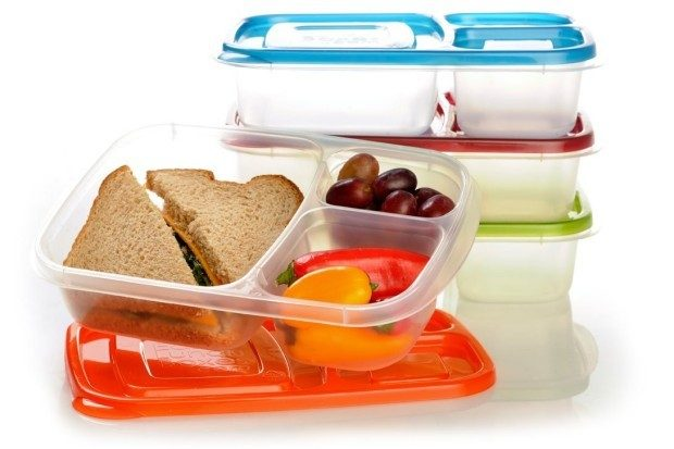 EasyLunchboxes 3-Compartment Bento Lunch Box Containers Only $13.95!
