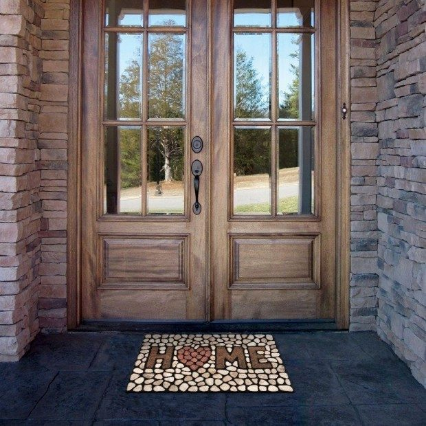 Heart Of The Home Stones Doormat Only $12.38! (Reg. $39)