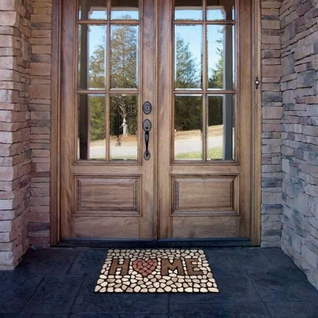 Heart Of The Home Stones Doormat Only $12.38! (Reg. $39)