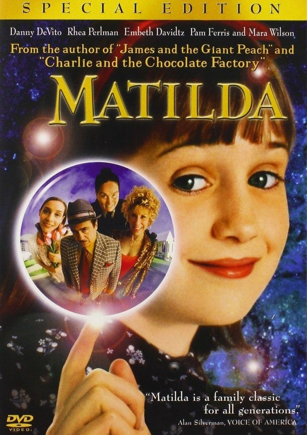 Matilda (Special Edition) on DVD Just $4 + FREE Shipping with Prime!