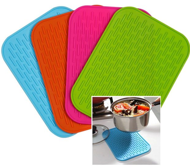 Silicone Trivets / Pot Holder 4 Pc Set Just $8.15! (Reg. $20)