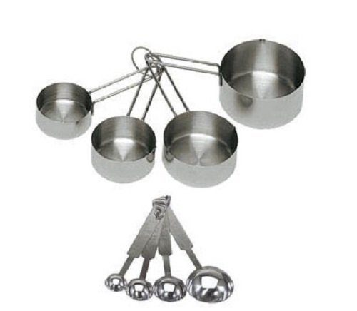 Stainless Steel Measuring Cup & Spoon Set 8 Pc Just $6.99 (Reg. $9.95)!