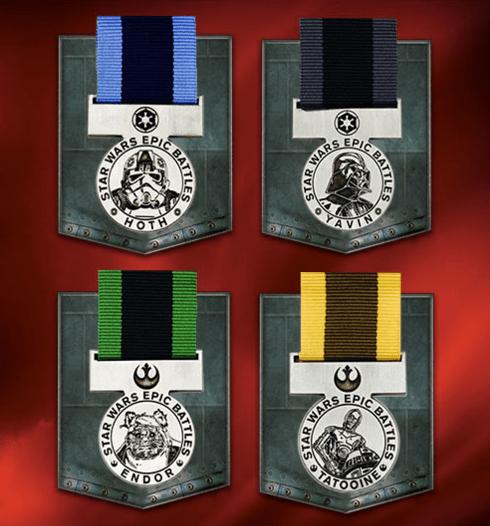 FREE Star Wars Epic Battles Medals At ToysRUs!