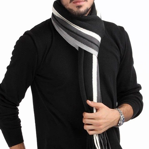 Mens Classic Cashmere Tassel Scarf Only $5.99! Ships FREE!