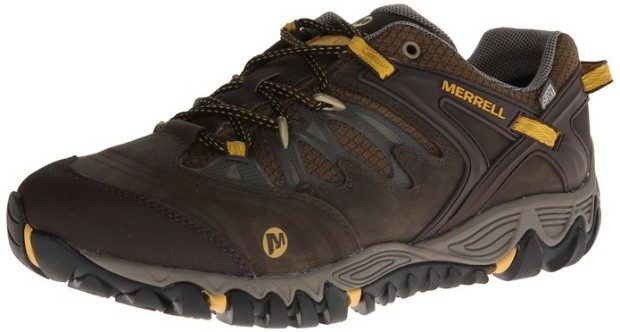 Merrell Men's All Out Blaze Low Waterproof Hiking Shoe Just $77!