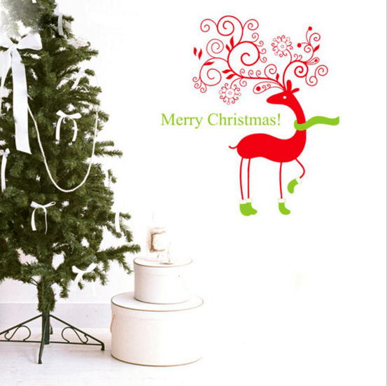 Christmas Reindeer Decal Only $5.32 Shipped!