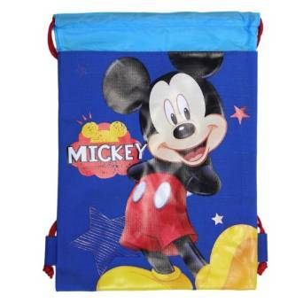 mickey mouse drawstring bag