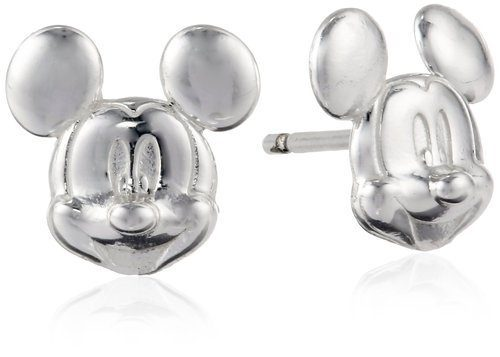 Disney Mickey Mouse Sterling Silver Stud Earrings Only $9.99 Plus FREE Shipping!