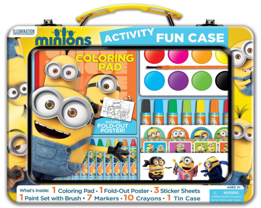 Bendon Minions Art And Activity Tin Just $8.50 Down From $17!
