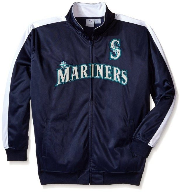 MLB Men's Big and Tall Tricot Poly Track Jacket Only $19.99!  Down From $65!