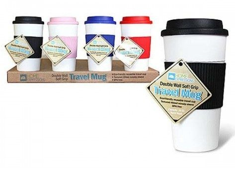 Double Wall Travel Mug Only $4.99 Plus FREE Shipping!