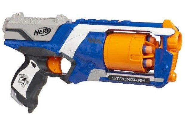 Nerf N-Strike Elite: Strongarm Blaster Only $9.88! (Reg. $13)