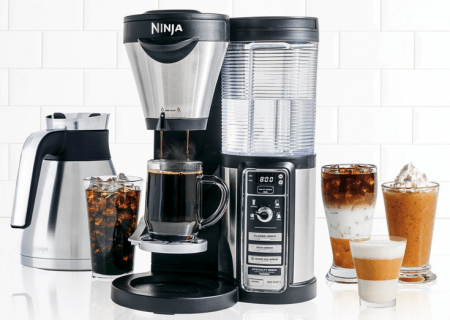 Ninja Coffee Bar with Glass Carafe Only $81.49! Down From $229.99!