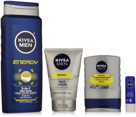NIVEA Men 4 Piece Energy Collection Gift Set Now Only $6.75!