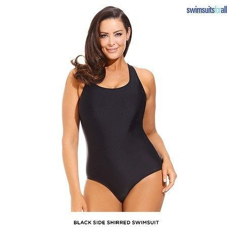 Swimsuitsforall One-Piece or Swimdress with Tummy Control Panel - Assorted Styles Only $41 Shipped!