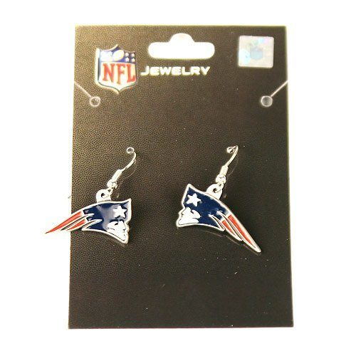 New England Patriots Dangle Earrings Just $5.34 Ships FREE!