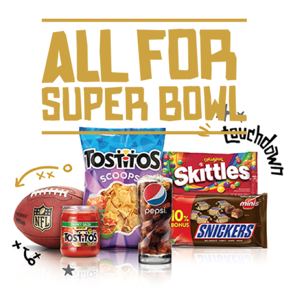 Enter The Pepsico And Mars Super Bowl 50 Sweepstakes!