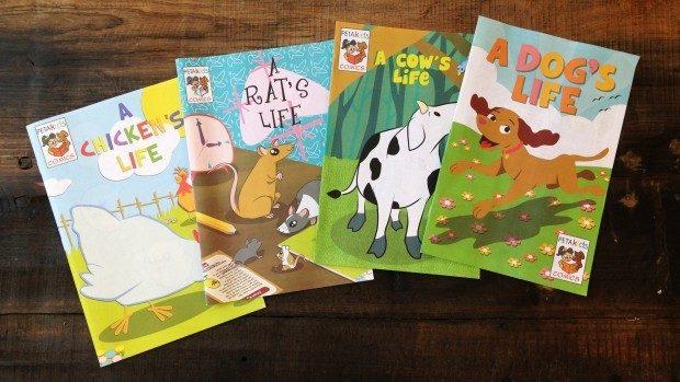 FREE PETA Kids Comic Books!