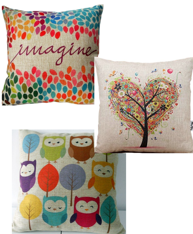 Decorative Pillow Covers - Starting At $2.66 + FREE Shipping!