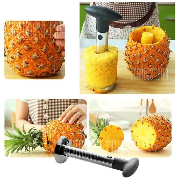 Stainless Pineapple Slicer Peeler Kitchen Tool Only $3.42! Ships FREE!
