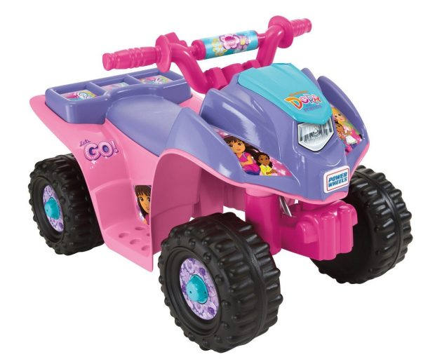 Power Wheels Nickelodeon Dora & Friends Lil Quad Was $100 Now Only $64.99!