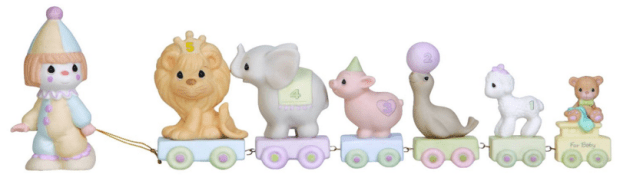 "Precious Moments ""Bless The Days Of Our Youth"" Birthday Train Figurine Just $21.43! Reg. $30!"