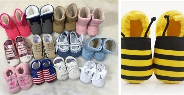 Baby's Pre-Walking Shoes Just $7.99!