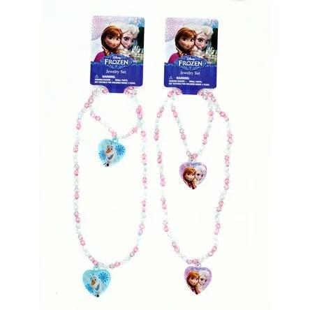 2 Pack Disney Frozen Charm Bracelet + Necklace Set Just $4.99! Down From $18.99!