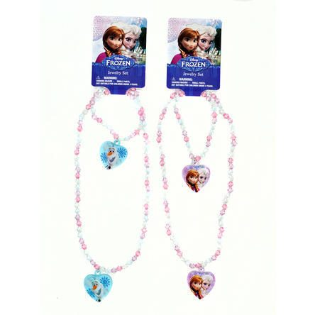 2 Pack Disney Frozen Charm Bracelet + Necklace Set Just $4.99! Down From $18.99!
