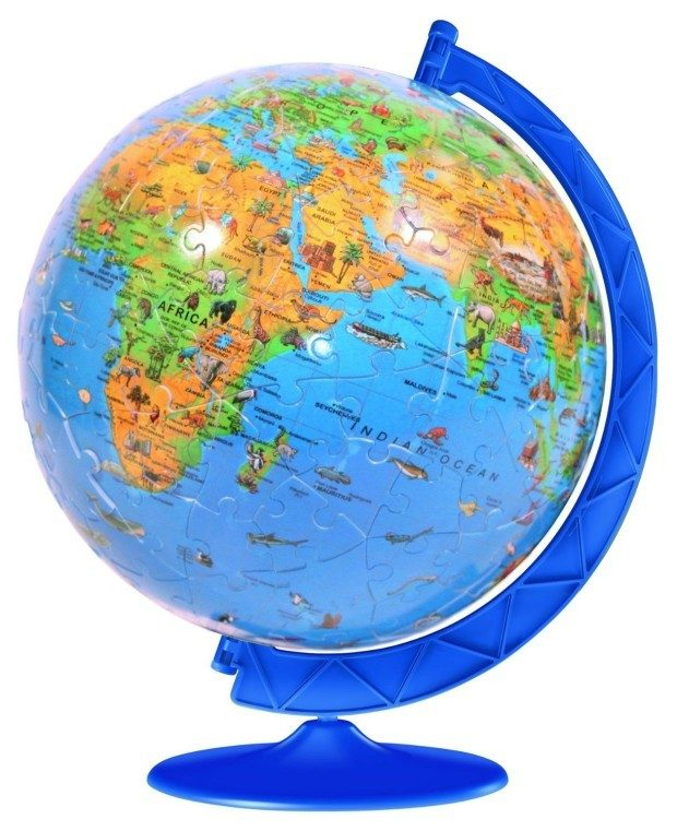 Ravensburger XXL Children's Globe 180 Piece Puzzleball Was $26 Now Only $10.19!
