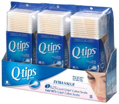 Q-Tips Cotton Swabs, 1875 Count Only $8.24!