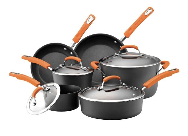 Rachael Ray 10-Piece Cookware Set Was $255, Now Only $99! Ships FREE!
