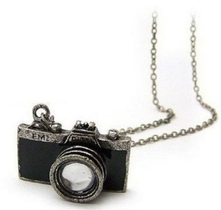 Retro Camera Necklace Only $2.72 + FREE Shipping!
