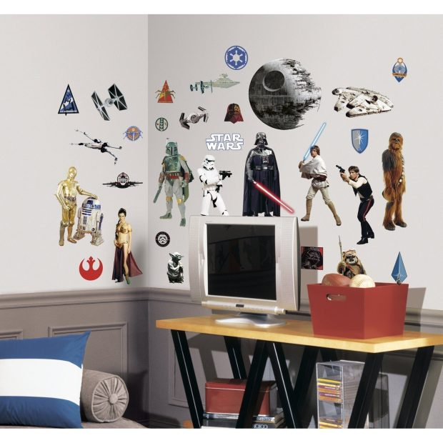 Roommates Star Wars Classic Wall Decals Just $9.17! (Reg. $14)