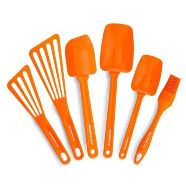 Rachael Ray Tools 6-Piece Utensil Set, Orange Just $19.20! (Reg. $60!)