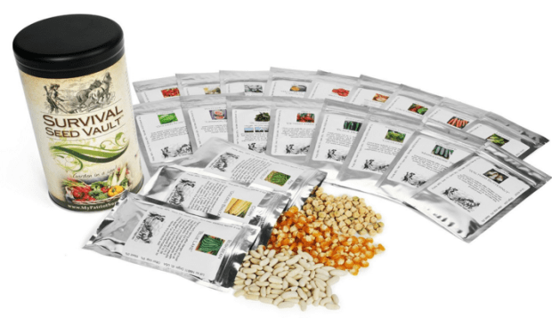 Survival Seed Vault Just $15 Down From $40!