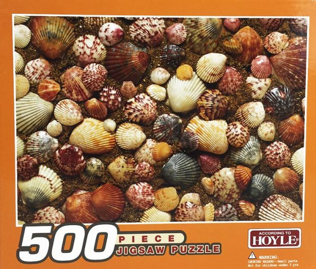 Shells - 500 Piece Jigsaw Puzzle Only $4.99 Plus FREE Shipping!