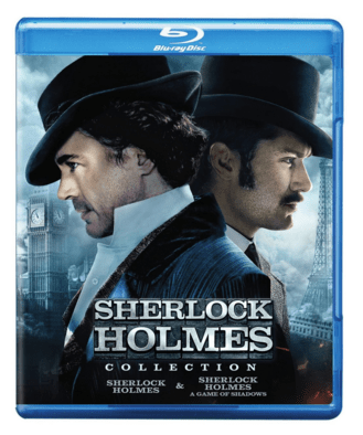 Sherlock Holmes & Sherlock Holmes: A Game Of Shadows [Blu-ray] Just $8 Down From $20!