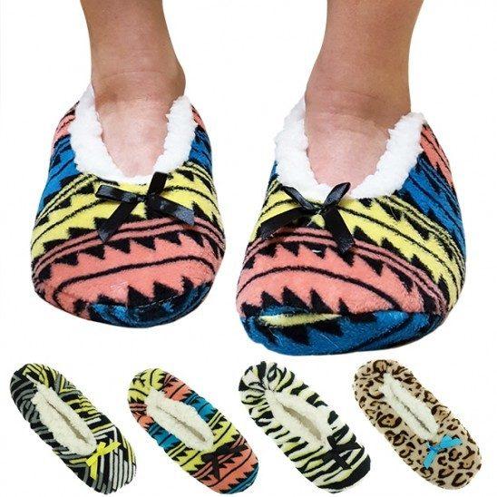 Nicole Miller Plush Slipper Socks! Ships FREE!