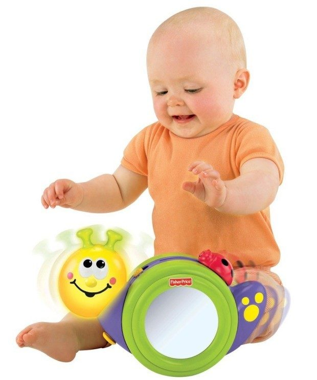 Fisher-Price Go Baby Go! 1-2-3 Crawl Along Snail $8.98!  (Reg. $18)