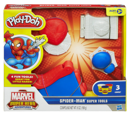 Play-Doh Spider-Man Super Tool Just $3.05 Down From $13!