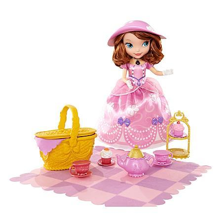 "Disney Sofia the First 10"" Tea Party Doll Just $18.99! Down From $49.99!"