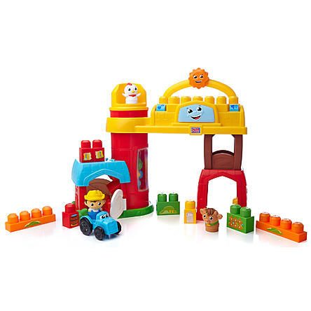 Mega Bloks First Builder's - Bobby Barn Musical Farm Playset Just $18.99 Down From $39.99 At Sears!